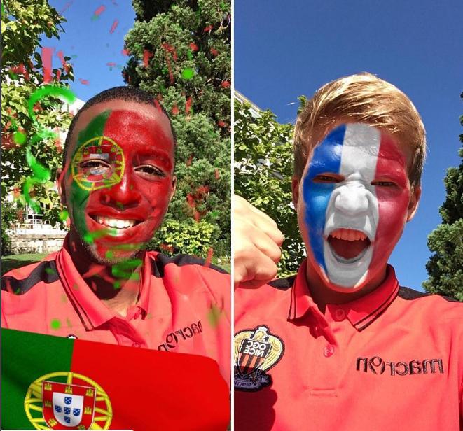 Portugal France Fans 2