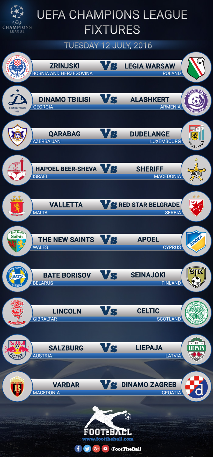 uefa champions league latest fixtures foottheball uefa champions league latest fixtures