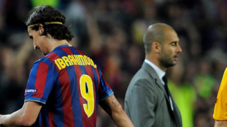 Zlatan-Ibrahimovic-Pep-Guardiola-Barca