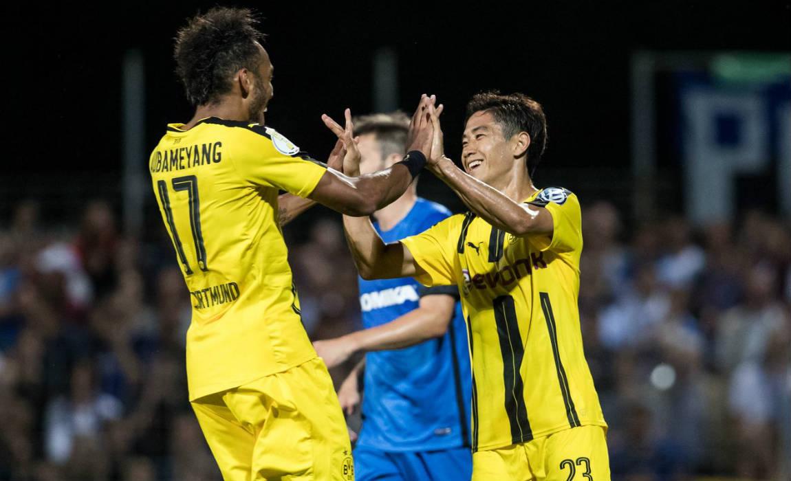 BVB dotmund reach second round of German Cup