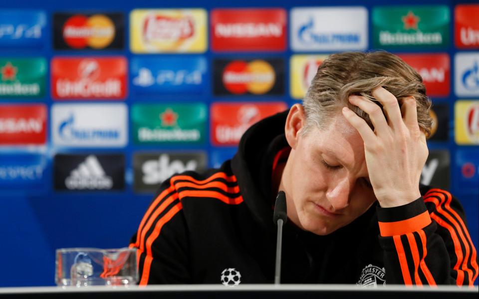 Bastian Schweinsteiger sad