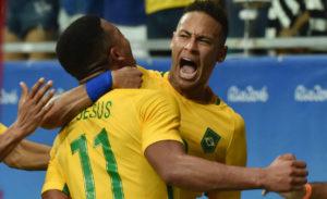 Brazil v Denmark Olympic Mens Group A Match