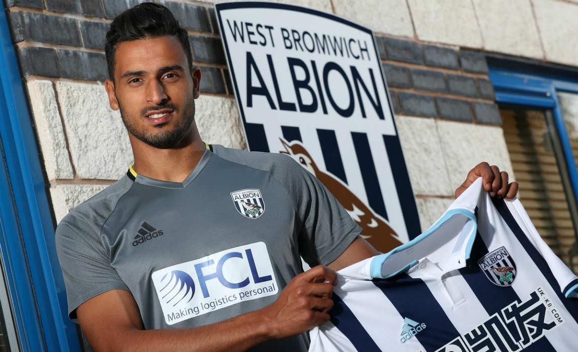 Chadli joins West Brom