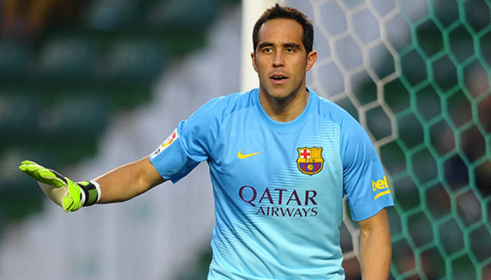 Claudio Bravo agrees to join Manchetser City