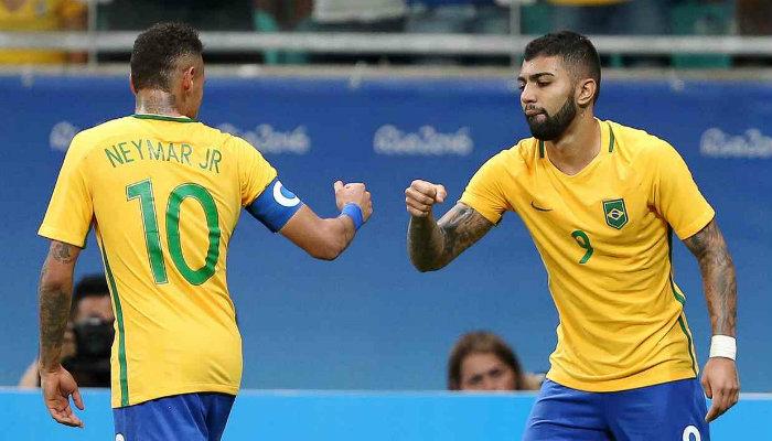 Gabriel Barbosa brazil rio olympics