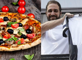 Higuain pizza