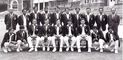 Indian Cricket team 1971
