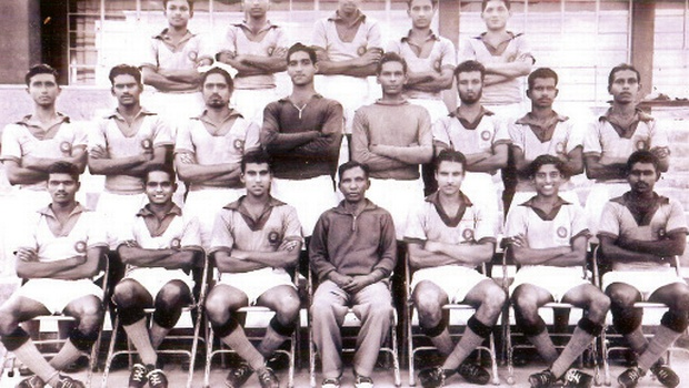 Indian Football team 1960
