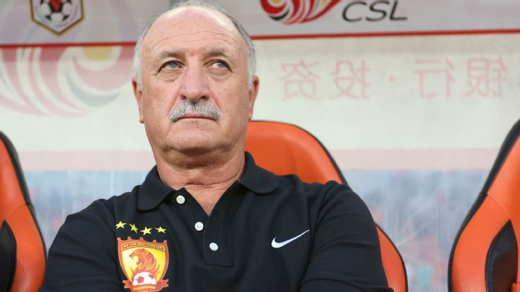 In 2015, Scolari was appointed head coach of Chinese Super League champions Guangzhou Evergrande, signing a two-and-a-half-year contract.