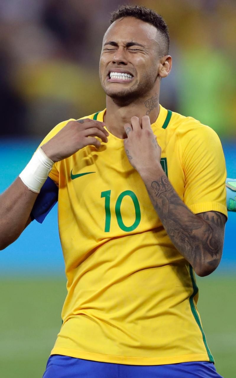 Neymar bursts into tears after victory