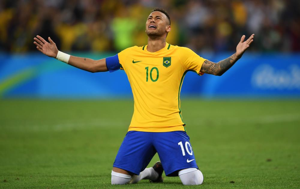 Neymar fires Brazil to first Olympic Games football gold medal in penalty shoot-out victory