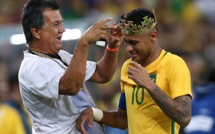 Neymar is 'crowned' after Brazil's win