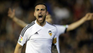 Valencia striker Paco Alcacer