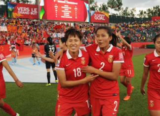 china women football