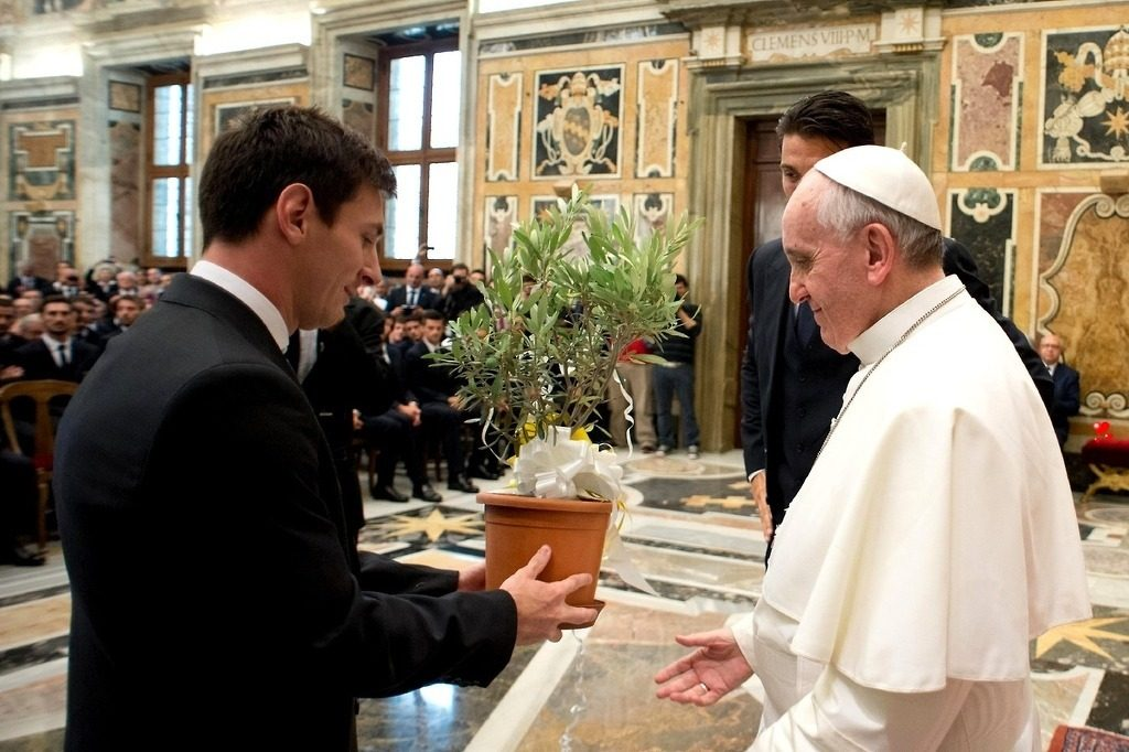 messi-pope