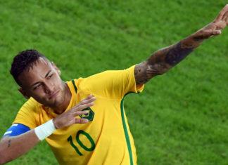 neymar brazil captain
