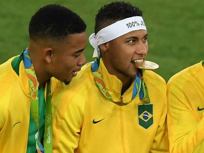 neymar-brazil-gold-medal