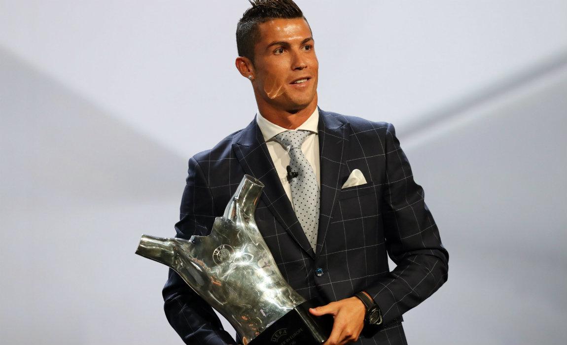 ronldo uefa award