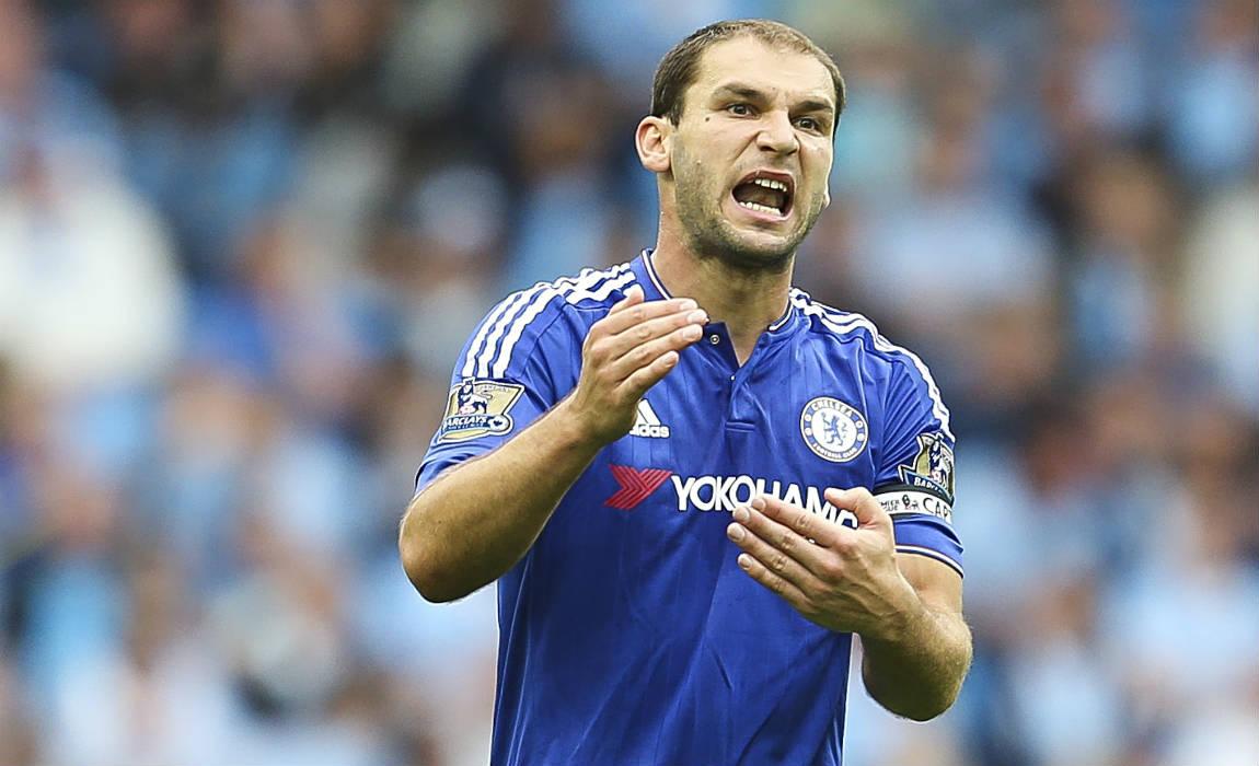 Branislav Ivanovic Faces Fight For Chelsea Future As Conte Looks