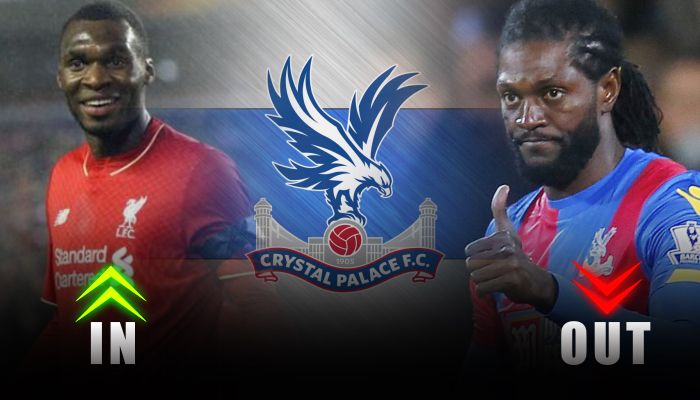 Crystal Palace-Christian benteke-Emmanuel Adebayor
