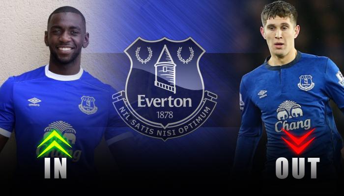 Everton-Yannick Bolasie-John Stones