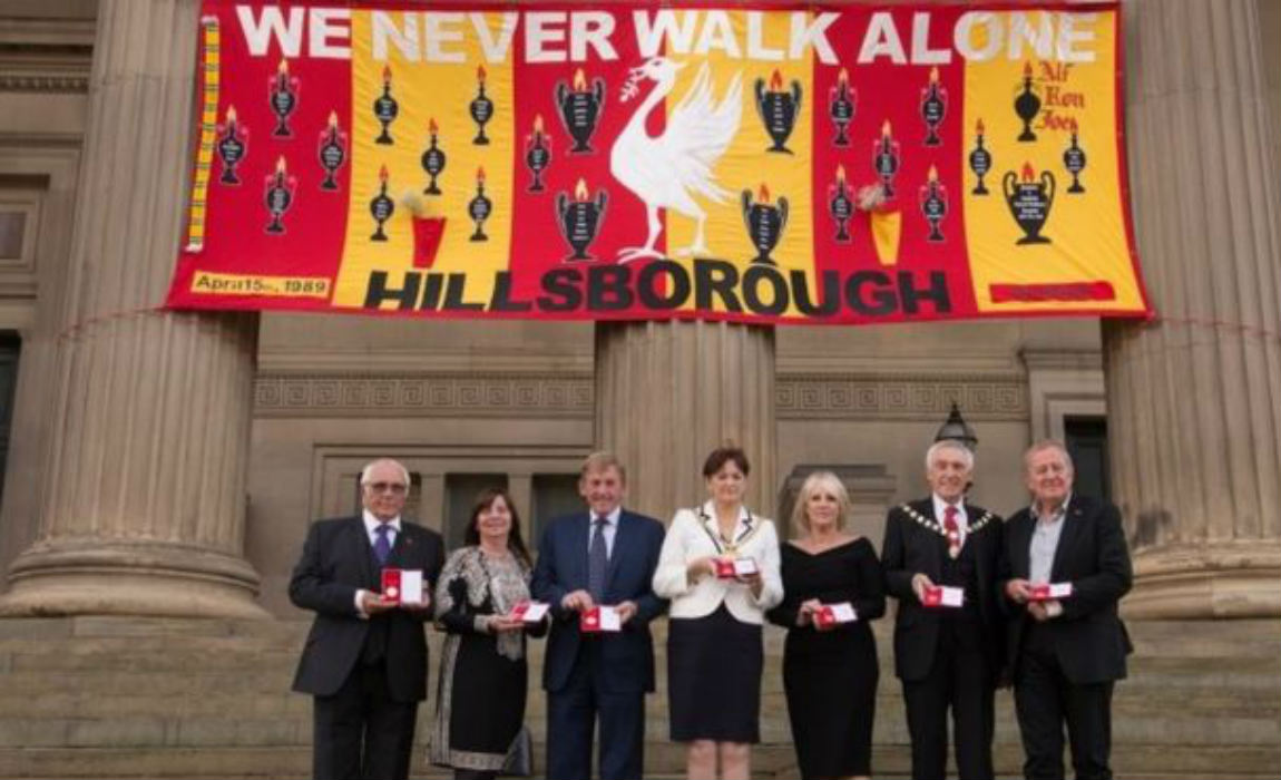 Liverpool Pays Tribute To Hillsborough 96 In Emotional Freedom Of City Ceremony