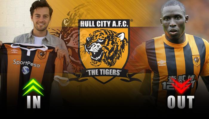 Hull City-Ryan Mason-Mohamed Diame