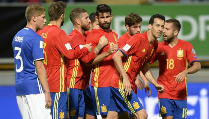 Spain vs Liec