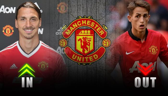 manchester united-Zlatan Ibrahimovic-Adnan janujaz