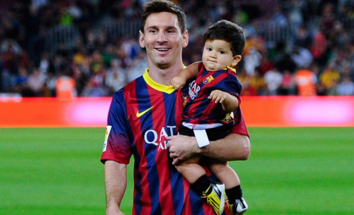 messi and son thiago
