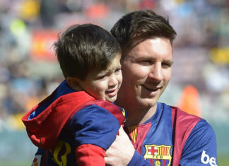 messi and thiago