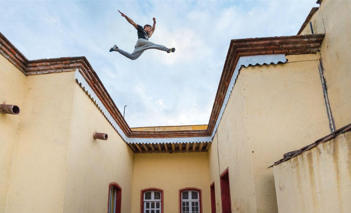 parkour-roof