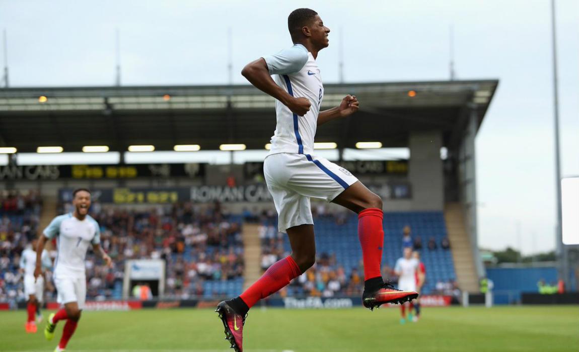rashford England U21