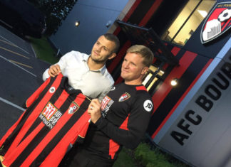 wilshere joins bournemouth