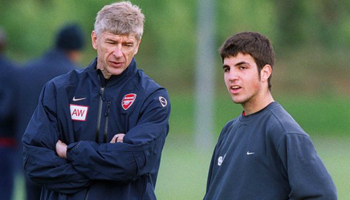 Cesc Fabregas started his journey with the North London club as a youth prospect and convinced Wenger to gradually become an integral part of the squad during his 8-year stint at the club, before moving to Barcelona.