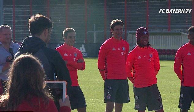 (Courtesy- FC Bayern Tv)