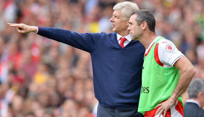 Football aficionados are well aware about the great relationship between Wenger and Martin Keown.