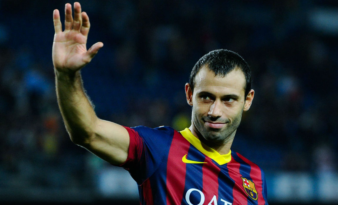 Barcelona s Javier Mascherano Wanted By Chinese Super League Clubs