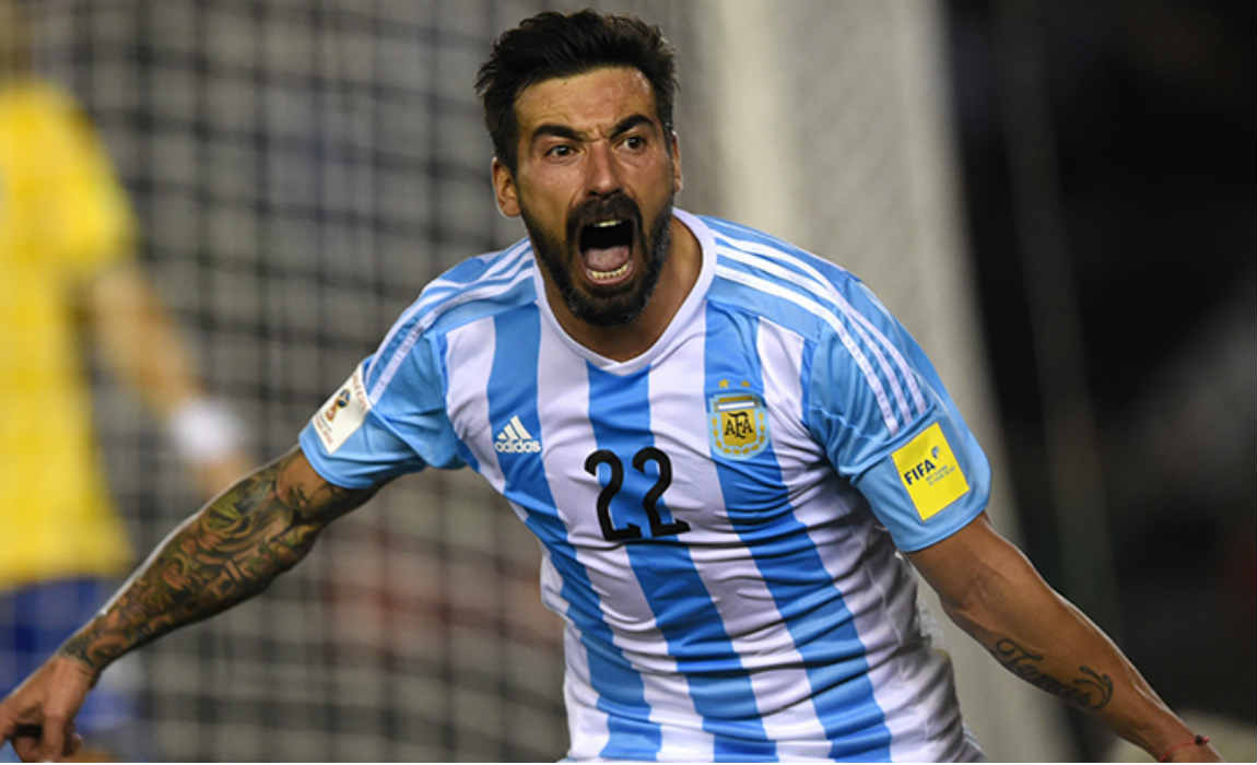 Argentina recall hebei china fortunes ezequiel lavezzi for qualifiers ezequiel lavezzi earns argentina recall after dybala suffers hamstring injury voltagebd Images