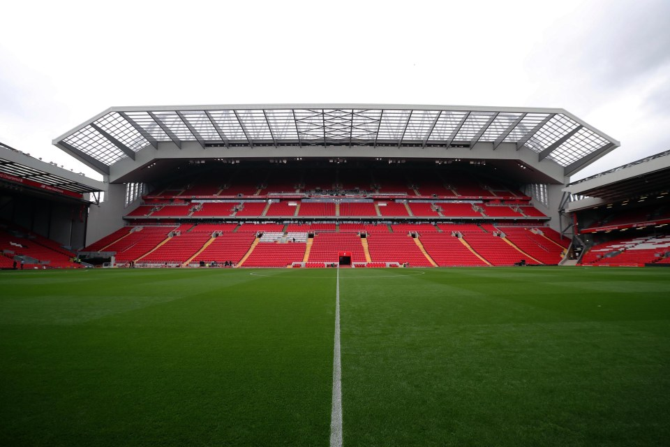 MAN UNITED FAN WHO WORKED ON NEW LIVERPOOL STAND GETS ONE OVER RIVALS WITH ANFIELD INVADERS PRANK