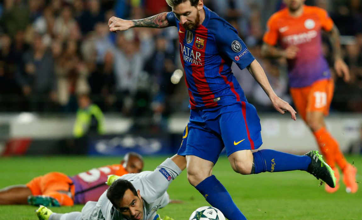messi-scoring-the-first-for-barcelona