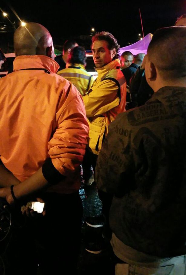 """Medellin's mayor, Federico Gutierrez, said its possible there are survivors but described the crash as """"a tragedy of huge proportions""""."""