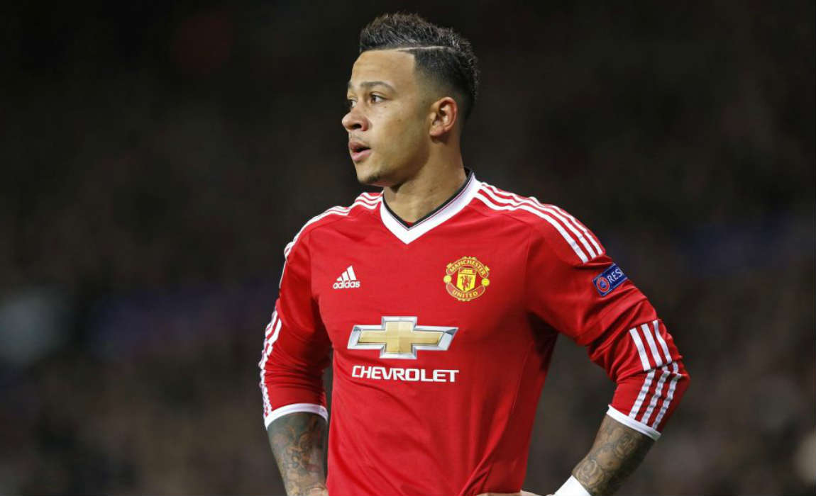 Image result for memphis depay manchester united