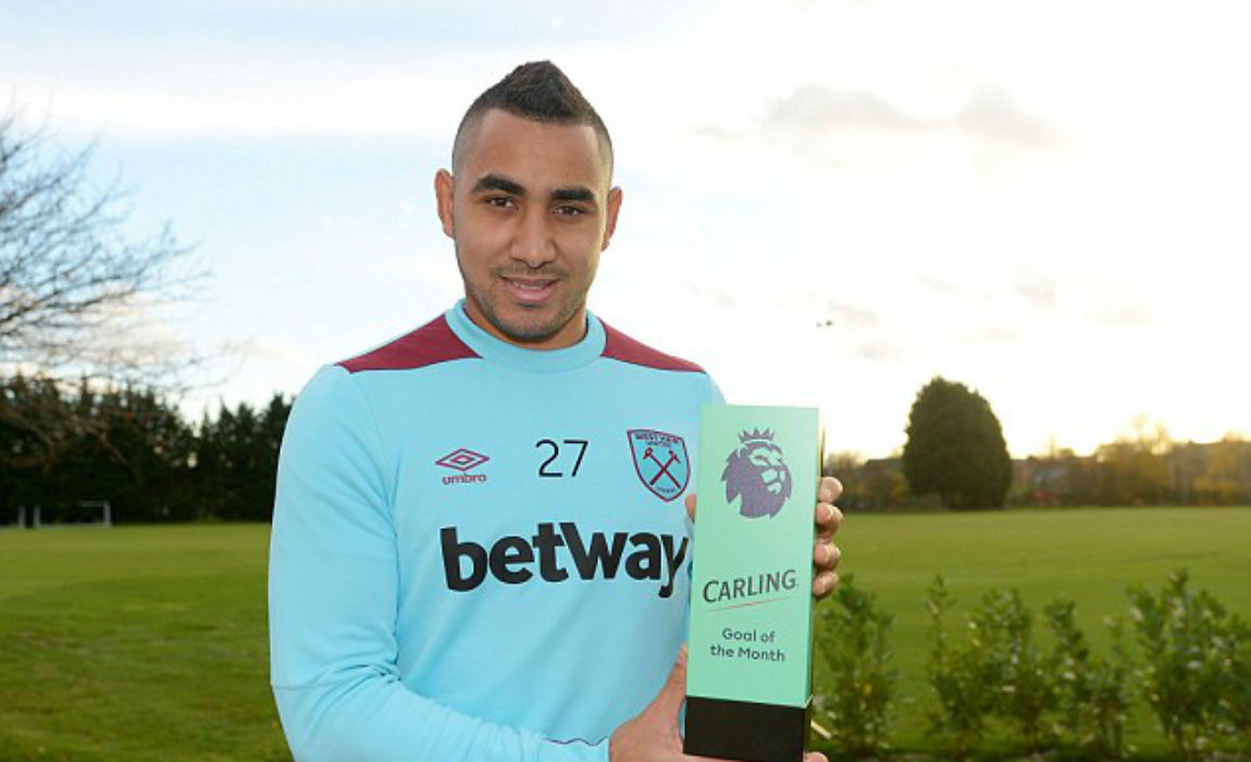 Payet Won The October Goal Of The Month Award