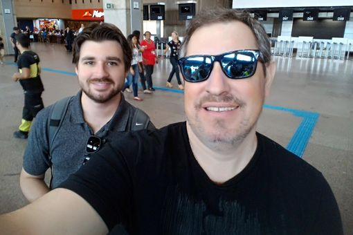 Rafael Henzel, video journalist (pictured right)