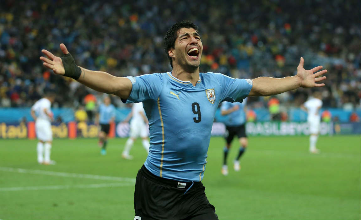 Luis Suarez And Diego Godin Included In Uruguay s World Cup