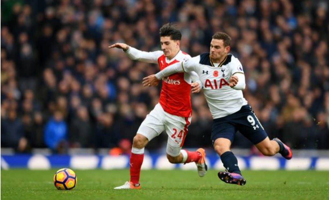 bellerin-against-spurs