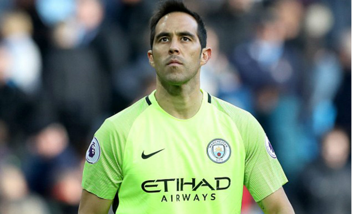 Out Goes Claudio Bravo In es Another Calamity Goalie Keyor