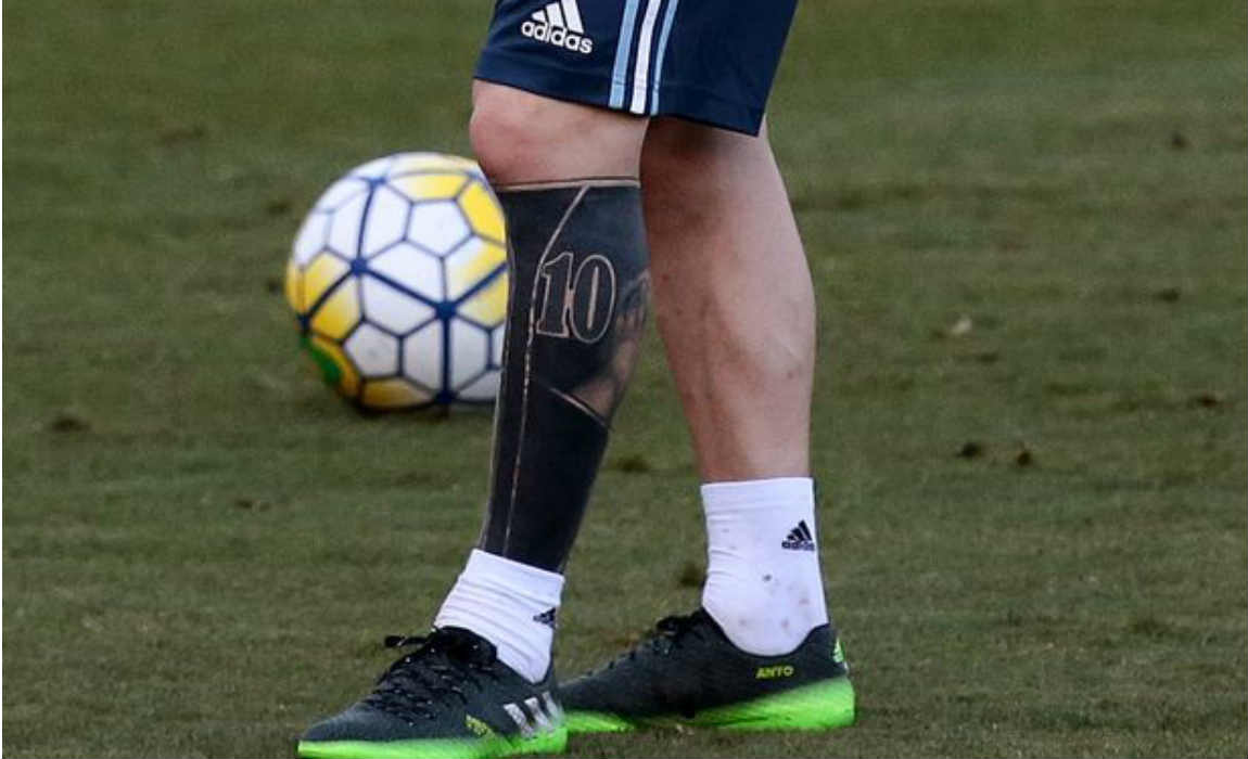 messi-left-leg-tattoo