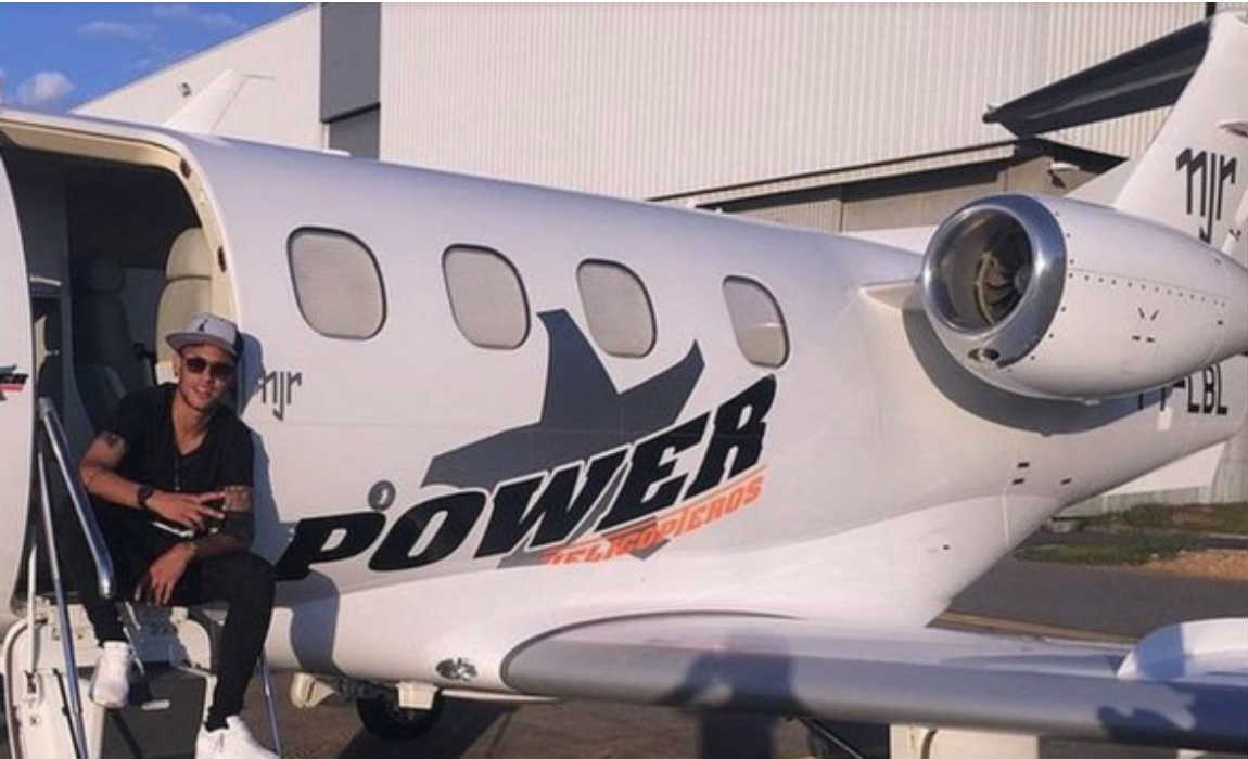 neymar-private-jet